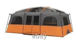 Camp Valley Core 12 Man Person Straight Wall Cabin Tente Camping Grande Famille Nouveau