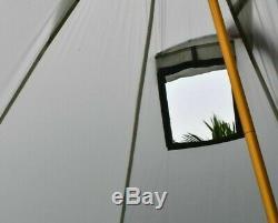 Camping 3-4 Personne Ultraléger Extérieur Tipi Pyramide Tente Randonnée Pédestre