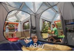 Camping Familial Familial De Grande Tente Avec Cabine Pour 12 Personnes Instantané 3 Chambres En Forme De L En Plein Air