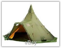 Camping Randonnée Helsport Varanger Camp 8-10 Tente & Kifaru Grand Poêle Portable
