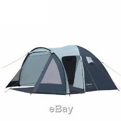 Camping Tente Étanche Double Couche Grande Tente Pop-up 3-4 Personne Famille Tentes