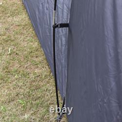 Camping Tente Randonnée Grande 6-9 Personne 3 Chambres Abri Étanche Extérieur 2 Couche