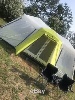 Campvalley Core 12 Tente Personne Grande Famille Tente De Cabine De Festival De Randonnée Instantanée
