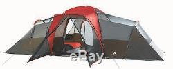 Chalet Tente Famille Camping Grand Dôme Voyage Diviseur Chambre, 10 Personnes Configuration Instantanée