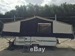 Classique, Toile Épaisse, Grande 6 Places Trigano Tente Remorque Great Condition