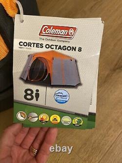 Coleman 2021 8 Homme Berth Cortes Octagon Tente Familiale