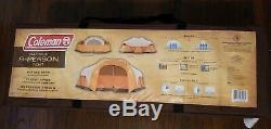 Coleman Bayside 7 Personnes, Tente De Camping En Plein Air De 15 Pieds Sur 10, Grande Tente Avec Animalier