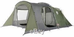 Coleman Da Gama 6 Tente Homme Personne Camping Familiale Grande Spacieuse 3 Chambres À Coucher