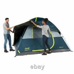 Coleman Fastpitch Sundome 6 Man Person Darkroom Tente De Camping En Plein Air
