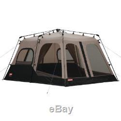 Coleman Large 8 Personne 14 'x 10' Tente De Camping En Plein Air Weathertec Instant Set Up