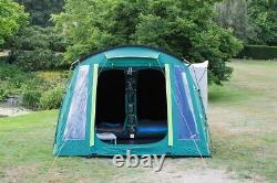 Coleman Mackenzie 4 Personne Tunnel Blackout Tente Extérieur Pas En Un Camping