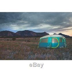 Coleman Tente Cabine 8 Personnes Emplacement Rapide + Placard Lac Tenaya Grand Modèle De Luxe