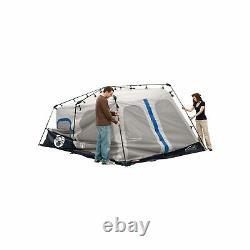 Coleman Tente Instantanée 8 Personne Bleu Extérieur Camping Dormir Abri 2000018296