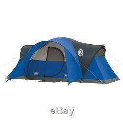 Coleman Tente Pour Camping Montana Avec Easy Setup 8 Personne, Bleu