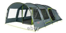 Coleman Vail Tente 6 Personne Berth Large Tunnel Grey Camping Outdoors Festival
