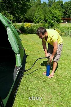 Coleman Valdes Fastpitch Tente 6l Inflatable Pole Family Blackout 6 Berth Camping