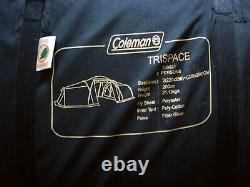 Coleman'trispace' 8 Personne Grande Tente Familiale, Grande Condition, Affranchissement Gratuit Au Royaume-uni