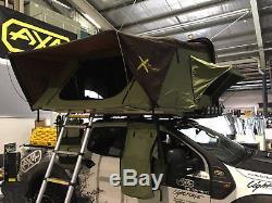 Combinaison Tente + Remorque De Camping Aérodynamique Toit Rigide Shell- Ax4 Large Xtent