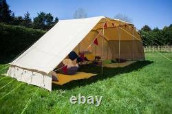 Cotton Canvas Sun/rain Shelter Canopy Gazebo Pour Bell Tent Camping