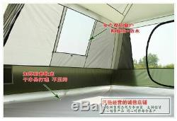 Couches Doubles Grand Espace Famille Camping Tentes Diagonal Contreventement Types De Style Tente