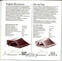 De Waard Jan Van Gent Tente De Campanile Grande Camping De Style Pyramide + Extras