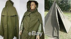 Deux Nouveaux Grands Ponchos Polonais Taille 2 Ceci Est Une Tente Tipi, Aussi En Hiver