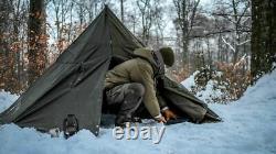 Deux Polonais Grand Ponchos Lavvu Kaki Taille II C'est Une Tente Tipi, Aussi L'hiver