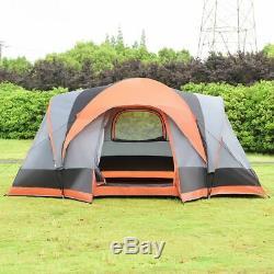 Durable 8 Personnes Automatique Pop Up Randonnée Tente Avec Sac Loisirs De Plein Air
