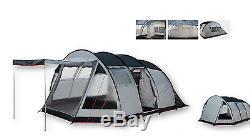 Durban Outdoor 6 Person Très Grande Tente De Camping Caravane De 5,2 Mètres Sur 3,6 Mètres