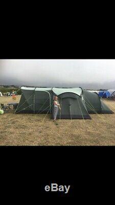 Ensemble D'équipement De Camping, Y Compris Une Grande Tente Pour 8 Personnes, Une Cuisinière Pour Lits, Etc.