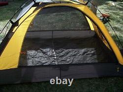 Eureka Apex Xt 2 Personne Tente Rain Fly Large Vestibule Jaune Noir