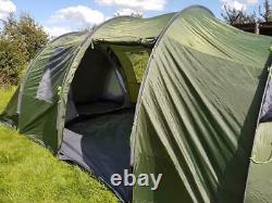 Eurohike Buckingham 6 Tente De Camping Familiale Six Personnes Couchette Homme 2000mm Hh Nouveau