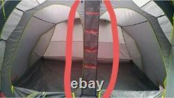 Évasion Urbaine 6 Couchettes Tente Gonflable 2 Chambres Grande Tente Familiale