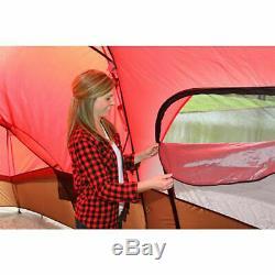 Extérieur Camping Familial Chalet Tente 10 Personne Ozark Trail Randonnée Abri 2 Portes