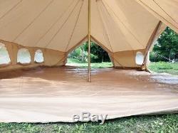 Extérieur Double Pôle De Toile De Coton 6x4m Empereur De Bell Yurttent Camping Familytent