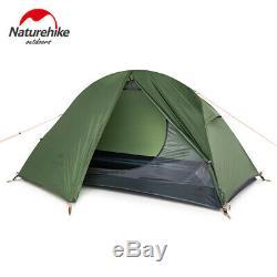 Extérieur Simple Ultraléger Tente Double Couche Tente Professionnelle Camping Sauvage 20d