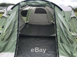 Extra Extra Large Tente Familiale. Outwell Nebraska XXL 10 Man Supertent