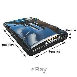 Extra Large Roofbunk Hard Shell Voiture Toit Tente Gris Foncé