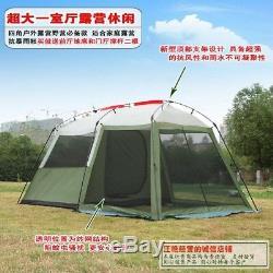 Famille Tente 8 Personnes Grand Espace Camping Tentes De Couchage