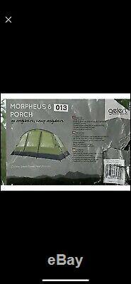 Gelert Morpheus 8 Personne Grande Tente Familiale Avec Extension Tapis Et Terrasse Couverte