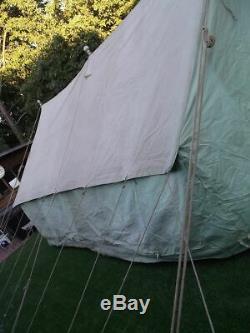 Glamping / Reconstitution / Film / Accessoire De Télévision De Grande Taille De Tente De Patrouille De Scout De Cru De Cru