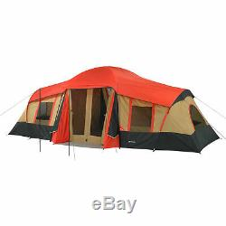 Grand 3 Pièces Cabine Tente 10 Personne 20'x11' Camping Chasse Outdoor Ozark Trail 4