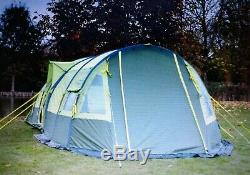 Grand 4-6 Chambre Man 2 Gonflable Tunnel Tente Avec Extension