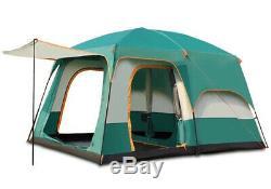 Grand 8 Personnes Tente Automatique Camping