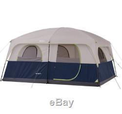Grand Camping Tente Tous Météo 10 Personne 2 Pièces D'extérieur Famille Chalet Abri