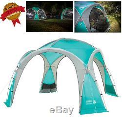 Grand Dôme Événement Abri 12x12ft Extérieur Camping Tente Avec Claustras Durable