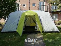 Grand Équipement De Base Tente De Cabine Instantané 12 Personne Comprend Taille Externe Complète Tente