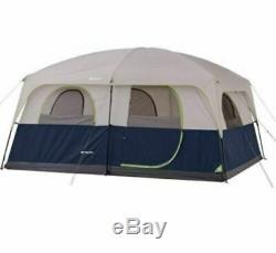 Grand Lit D'air De Hauteur De Fenêtre De Tente De Camping De Famille Toute La Saison Grande Mémoire 10 Personnes