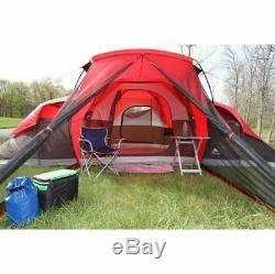 Grand Lit D'air De Taille De Tente De Camping De Famille Toute La Saison Grande Cabine De Stockage 10 Personnes