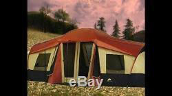 Grand Tente De Cabine 3 Pièces 10 Pers. 20'x11 'camping Chasse Extérieur Ozark Trail 4